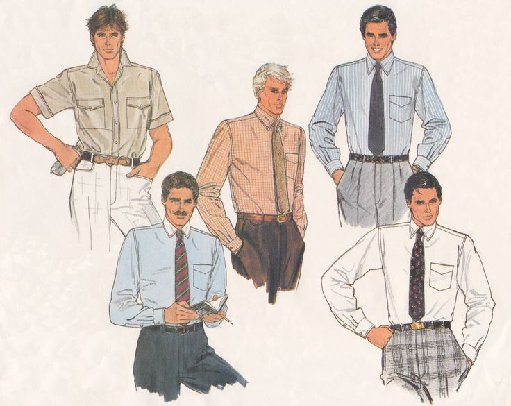 11 besten Men\'s Vintage Sewing Patterns Bilder auf Pinterest ...