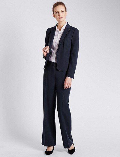 Double Crêpe Suit | Marks & Spencer London