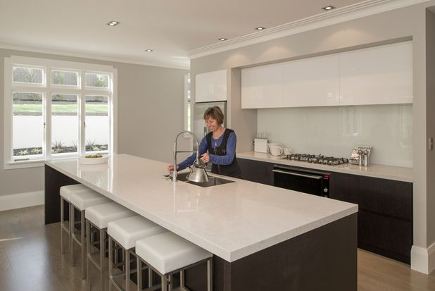 Clean New Kitchen Design In A 1926 Arts Crafts House In Epsom Auckland New Zealand Photo