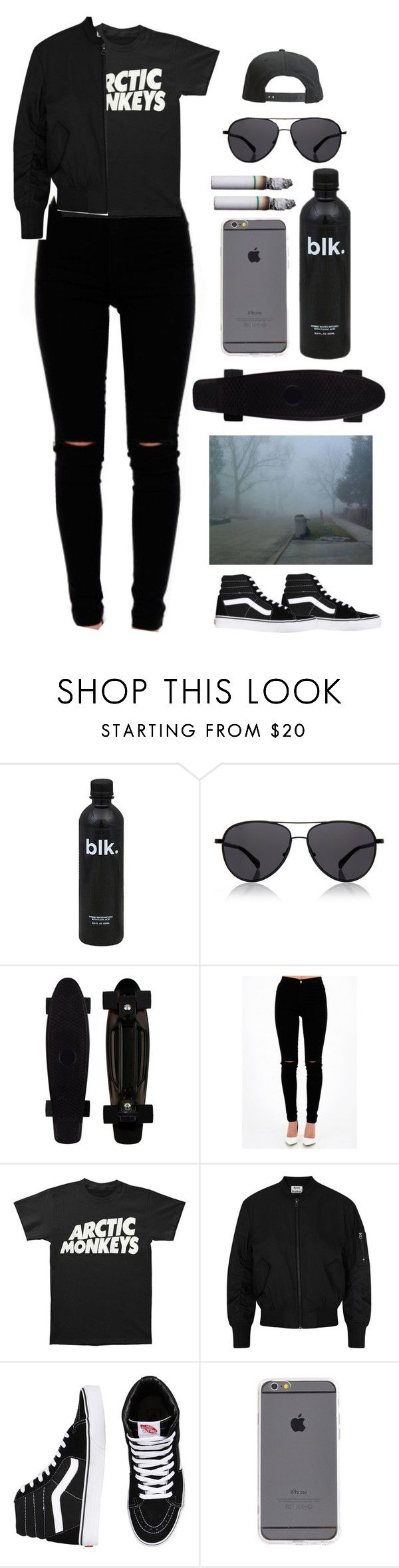 """""""Untitled #325"""" by blacksoul10 ❤ liked on Polyvore featuring The Row, Acne Studios, Vans and Tavik Swimwear"""