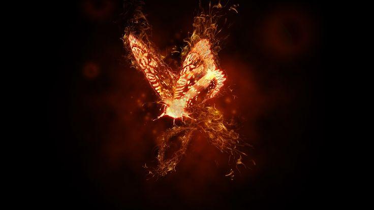 Burning Butterfly - Photo Manipulation tutorial - Photoshop