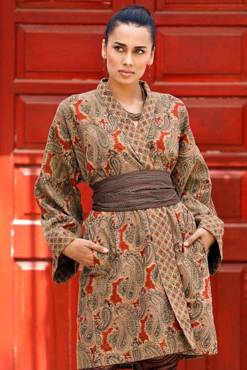 From Anokhi, Textile Artisans in Block Printed Cotton.  ClothRoads