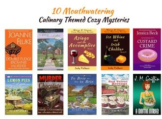 10 Mouthwatering Culinary Themed Cozy Mysteries