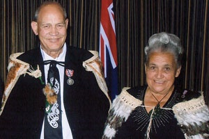 Te Pura o te Rangi Parata was this year awarded with a Queen's Service Medal for his services to Māori and the community. Pura began working in Māori Affairs at the age of 17 and has held roles with the Department of Māori Affairs, Iwi Transition  Agency, Te Puni Kōkiri and the Māori Land Court. He is also a member of Ngāti Kāpō. He Tangata | TE KARAKA