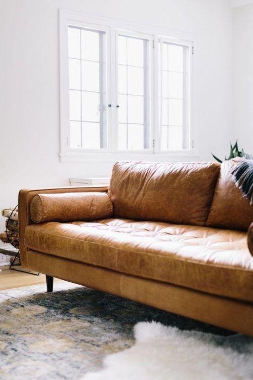 The 25 Best Orange Leather Sofas Ideas On Pinterest: 25+ Best Ideas About Tan Couches On Pinterest