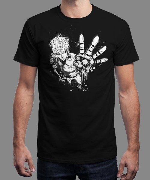"""Genos Demon Cyborg"" is today's £8/€10/$12 tee for 24 hours only on www.Qwertee.com Pin this for a chance to win a FREE TEE this weekend. Follow us on pinterest.com/qwertee for a second! Thanks:)"