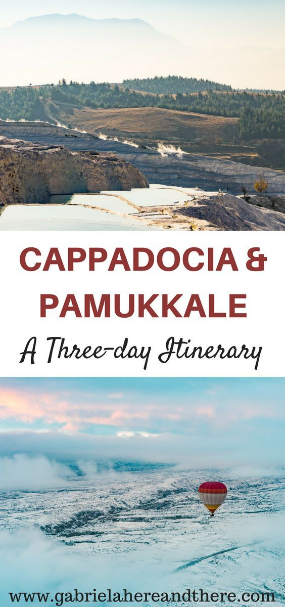 Experience Cappadocia & Pamukkale in Three Days