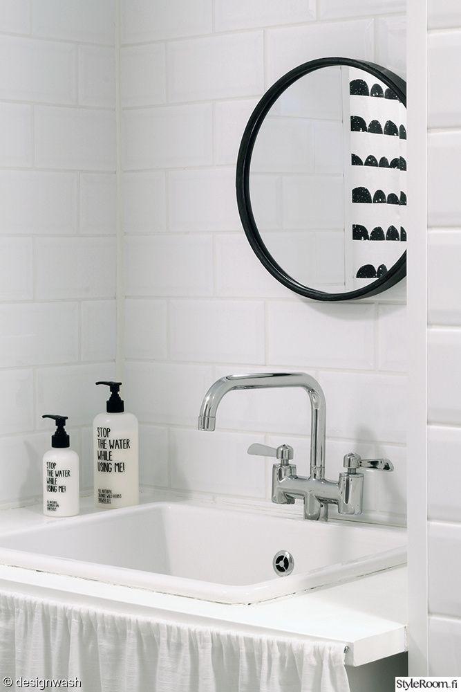 Kuva: designwash (http://www.styleroom.fi/album/46889) #styleroom #inspiroivakoti #bathroom