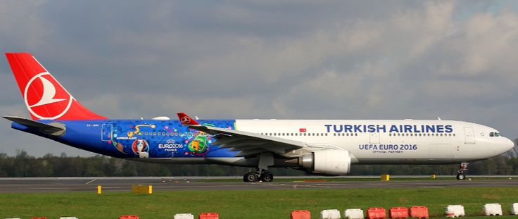 "1/500 Herpa Turkish Airlines Airbus A330-300 Registration: TC-JOH ""Euro 2016"" 529556 ## Picture of real aircraft is displayed. The website will be updated once Herpa releases a picture of the actual m"