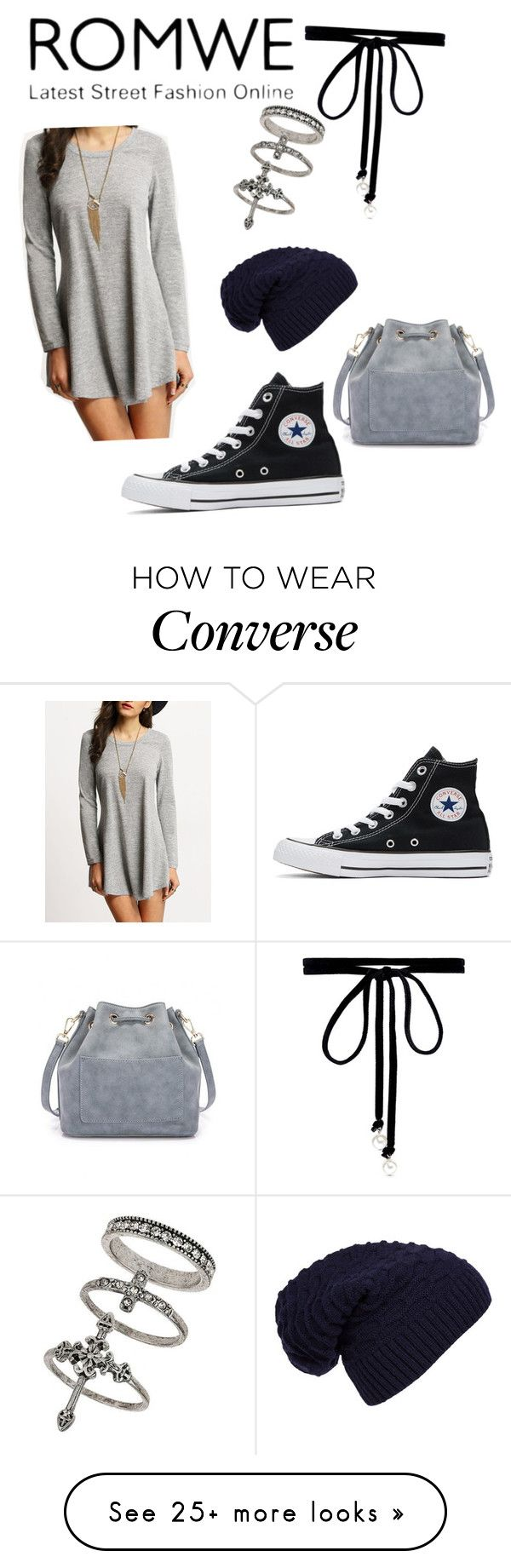 """""""Untitled #337"""" by brookelyn96 on Polyvore featuring Converse, Joomi Lim, Miss Selfridge and WithChic"""