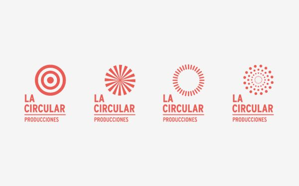 La Circular is a theatre and circus company with a wide range of technical and artistic skills. The logo, a series of circular shapes, reinforce the versatile nature of the company. A dynamic essence accompanied by a strong typography compose the personality of the brand. La Circular producciones by YINSEN, via Behance