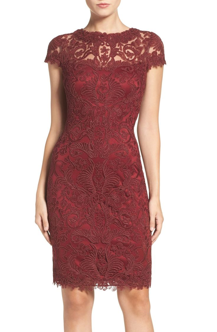 17 best images about red mother of the bride dresses on for Dresses for mother of the bride winter wedding