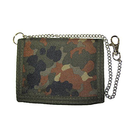 New Mil-Tec Wallet with Security Chain, Size- , Color- Flecktarn online. Perfect on the LAUREN Ralph Lauren Mens-Wallets from top store. Sku hhbu33178atvp52380