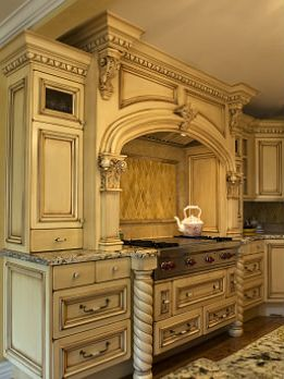 Not only is this kitchen beautiful but it also offers plenty of storage, abundance of work surfaces and stunning millwork