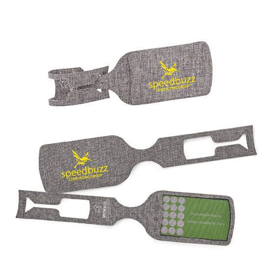 Eco-Friendly Luggage Tag - Promotional Giveaway