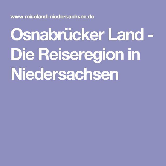 Osnabrücker Land - Die Reiseregion in Niedersachsen