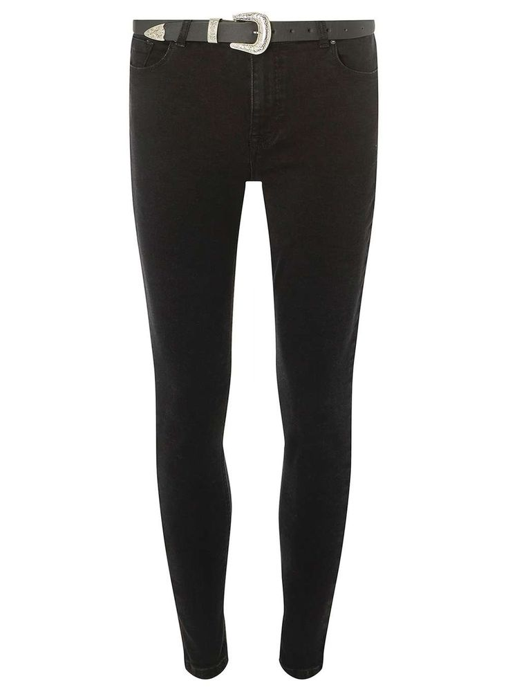 Black Belted 'Darcy' Ankle Grazer Jeans Dorothy Perkins was £30 now £22.50