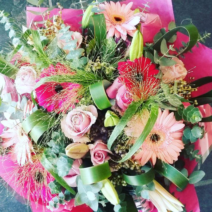 #flowers #bunch #pink #birthday