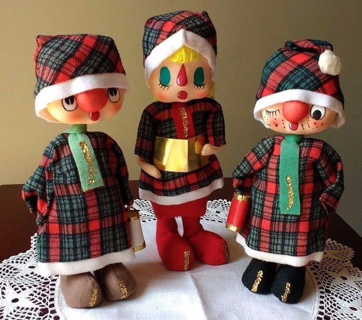 Singing Carolers Candleholders Figurines Vintage By: Best 25+ Caroler Ideas On Pinterest