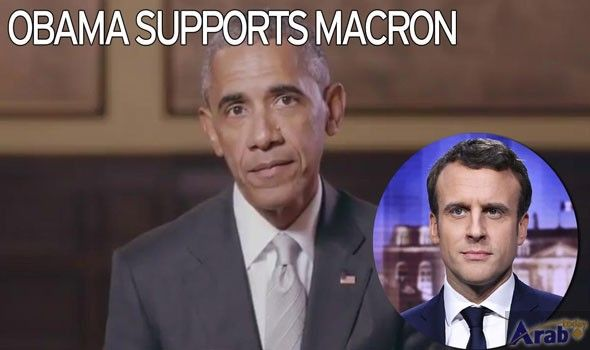 Obama endorses Macron for French presidency: campaign video
