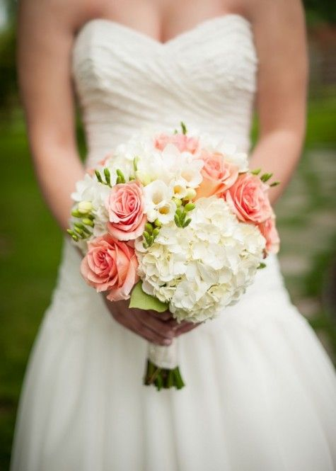 Amber and Trevor's Antique Shop Barn Wedding by Rennard Photography pink coral bouquet