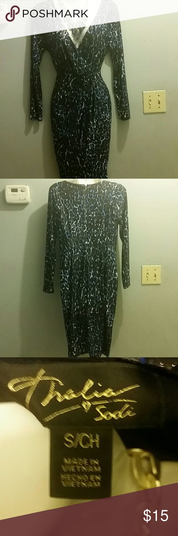 Dress Only worn once thalia sodia Dresses Long Sleeve