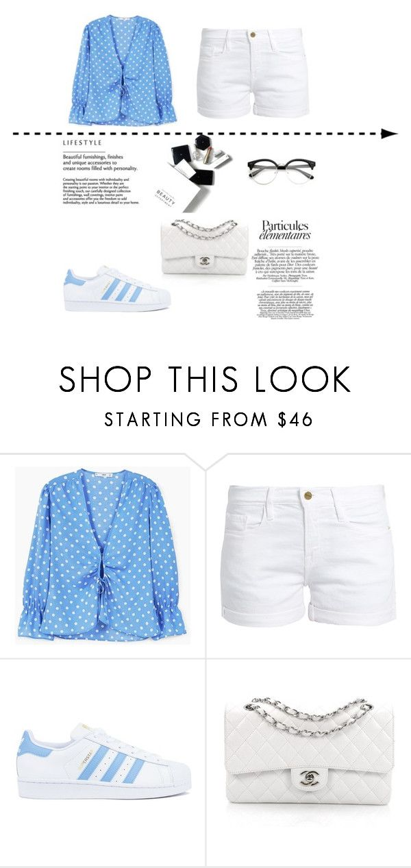 """Untitled #133"" by putrinaini on Polyvore featuring MANGO, Frame, adidas, Chanel and H&M"