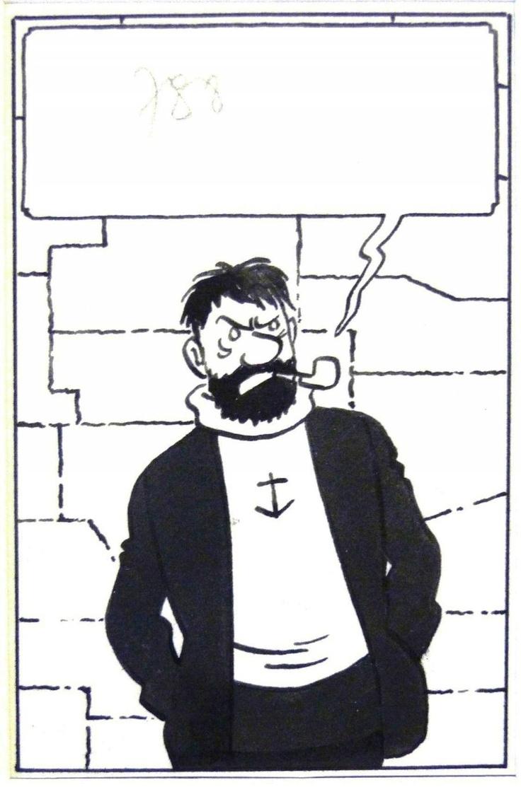 Hergé - Captain Haddock