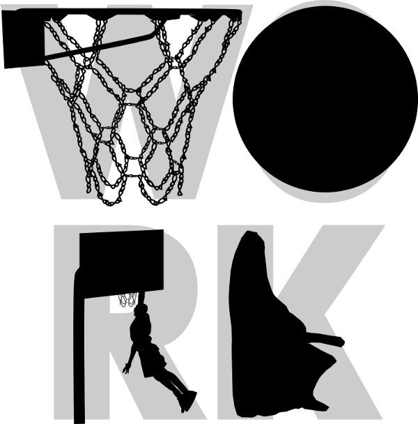 It takes real work to be great at anything - even basketball - show your dedication with this design now at my Cafe Press Shop.
