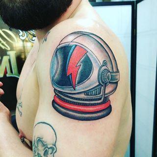 dog astronaut tattoo - photo #28