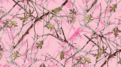 Conceal Pink Charmeuse Satin by True Timber Fabrics