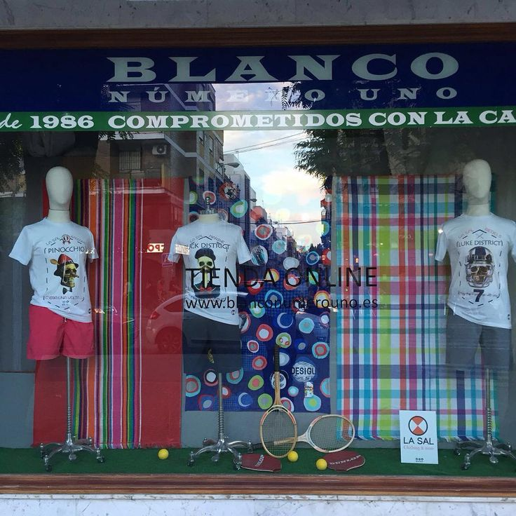 Encuentra tu look preferido para estos días de calor!!  Las podrás encontrar en  www.blanconumerouno.es   Ahora con envíos gratuitos!!
