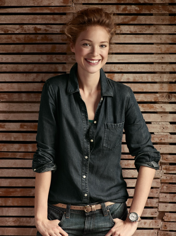 Fall I Catalog, 2012 Fossil: Fashion, Fossil Watches, Style, Shops, Fall, Fossil With Www, Fossils, Dark Denim