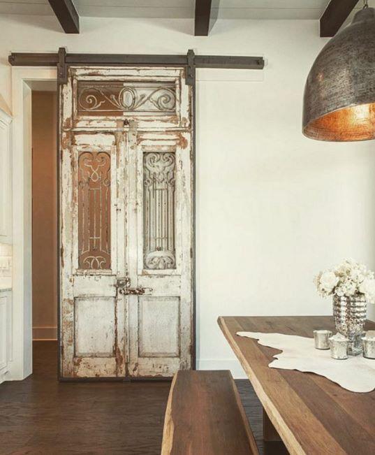 Oude Franse loftdeur