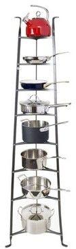Enclume Cookware Stand 6-Tier contemporary pot racks