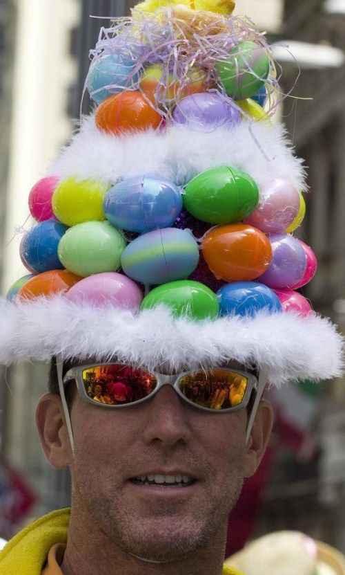 how to make creative easter hats