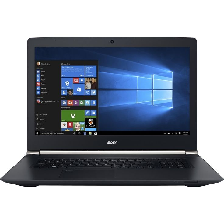 "Acer - Aspire V 17 Nitro 17.3"" Refurbished Laptop - Intel Core i7 - 16GB Memory - Nvidia GeForce GTX 960M - 1TB Hard Drive - Black, NX.G6TAA.005"