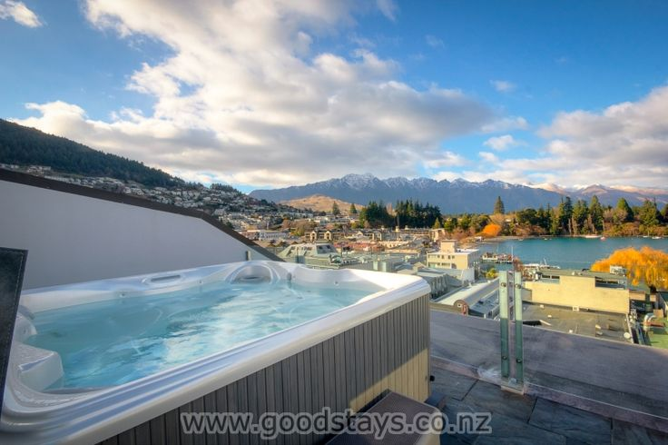 Shotover Penthouse and Spa | http://www.goodstays.co.nz/Unit/Details/54584