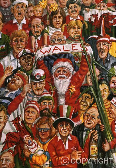 Christmas Card - O Come All Ye Faithful | Welsh Greeting Cards | Huw Thomas Gallery