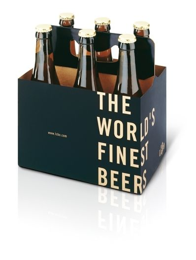 The World's Finest Beers 6-Pack Packaging Design