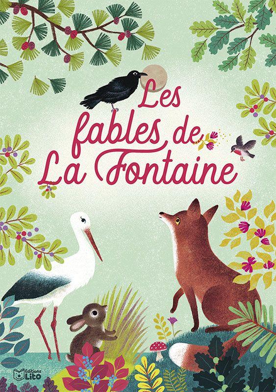 Fables de Jean de La Fontaine - Couverture livre   Fables ...