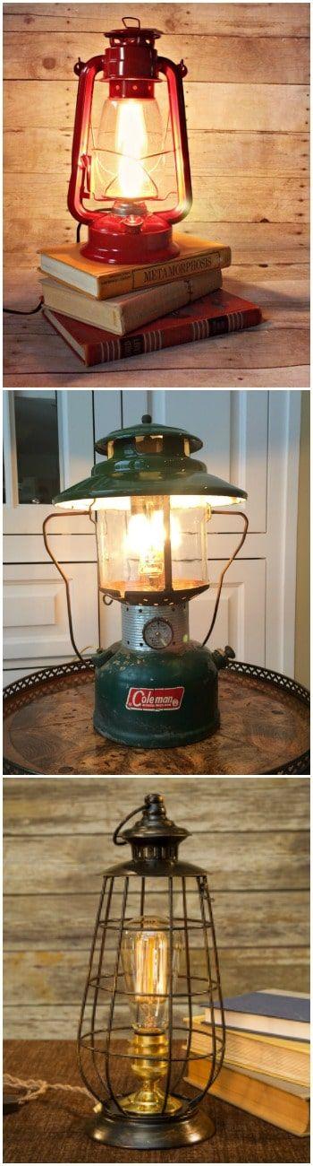 10 Lantern Table Lamps Vintage Selection - #TableLamps #Antique #Bedside #Design #Edison #Farmhouse #Glass #Industrial #Kitchen #Metal #Outdoor #Simple #Steampunk #Vintage (source: idlights.com)