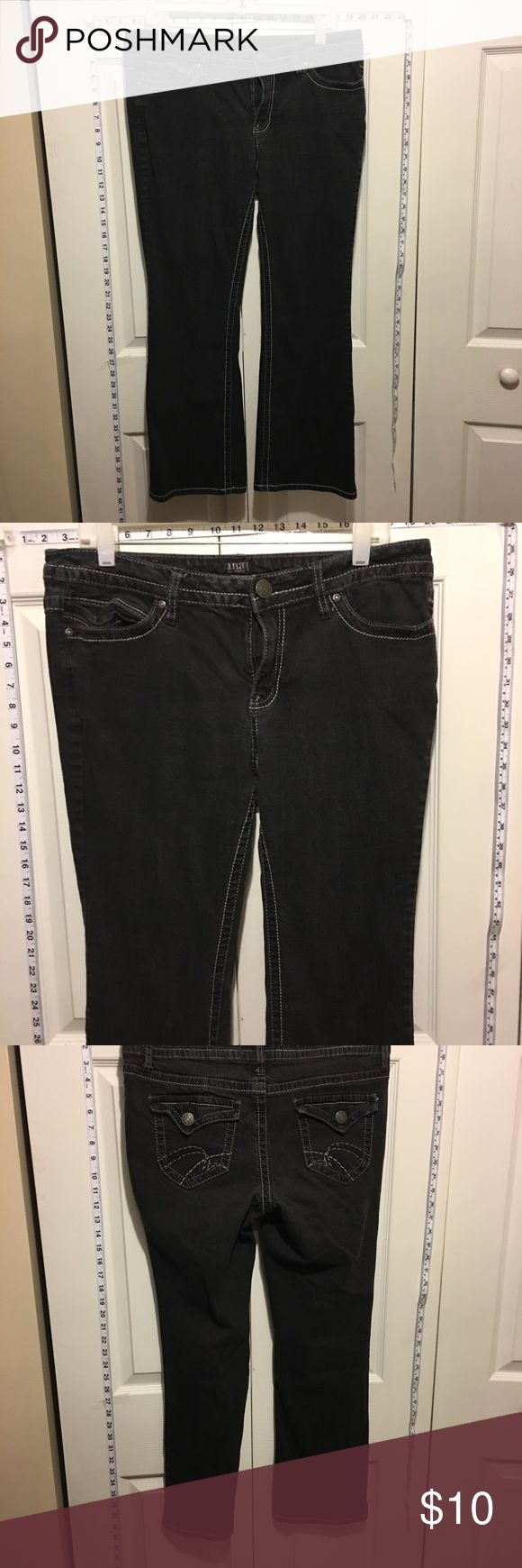 Any 2 ✅for $15 Ana Petite black Bootcut jeans Excellent condition. No tears, stains or marks. Combine with any item with a ✅ for a $15 bundle or add three more items for 30% Off Bundles. a.n.a Jeans Boot Cut