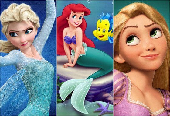 Teoria une os filmes Enrolados, Frozen e A Pequena Sereia