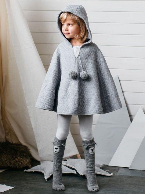 cute kids cape sewing pattern by burda