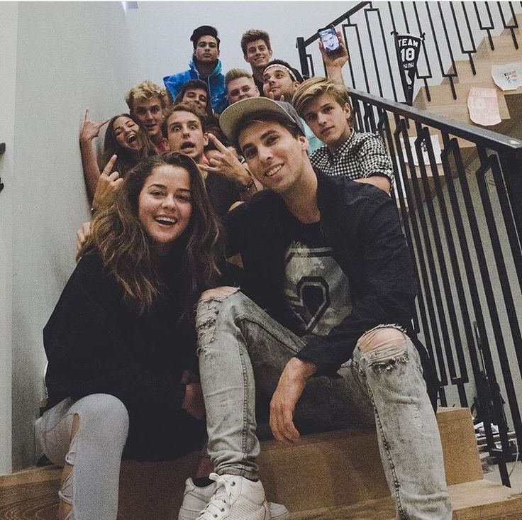 Erika Costell and the rest of Team 10