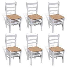 Resultado de imagen para sillas de comedor blancas de madera