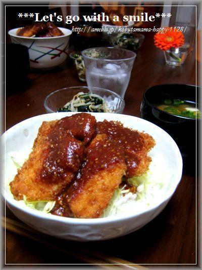 チキンソースカツ丼。 by 3匹の子ブタmamaさん | レシピブログ ...