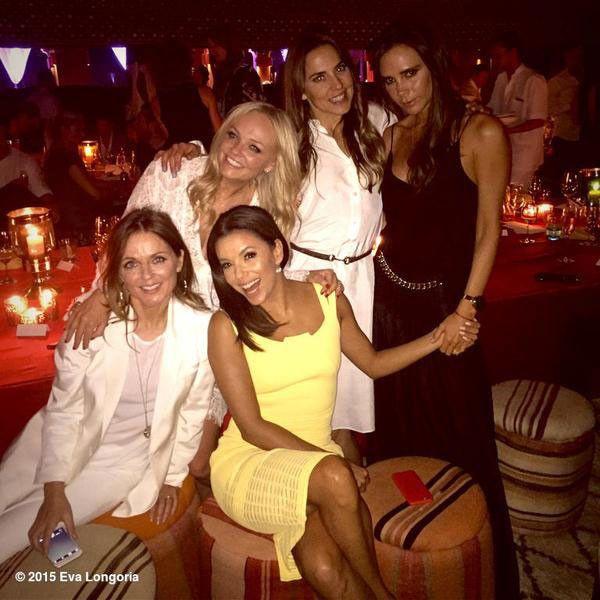 Spice Girls Reunion! Victoria Beckham Brings the Group Together to Spice Up David Beckham's 40th Birthday  Eva Longoria, Spice Girls