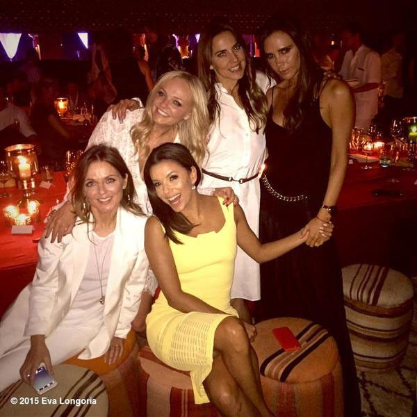 Spice Girls Reunion! Victoria Beckham Brings the Group Together to Spice Up David Beckham's 40th Birthday  Eva Longoria, Spice Girls